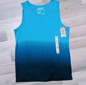 NWT Blue Dip Ombre Tank